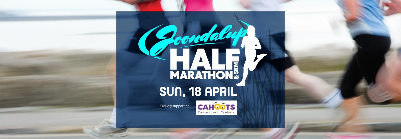Joondalup Half Marathon & 5km banner